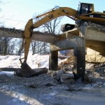 Wurtz Bros. Ltd. specializes in bridge demolition