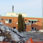 Demolition of the Hospital in Carberry, MB
