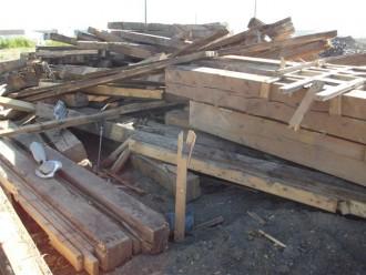 Reclaimed Spruce Beams